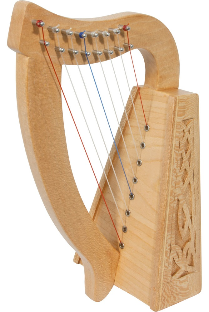 Roosebeck Lily Harp™ 8-String, Lacewood