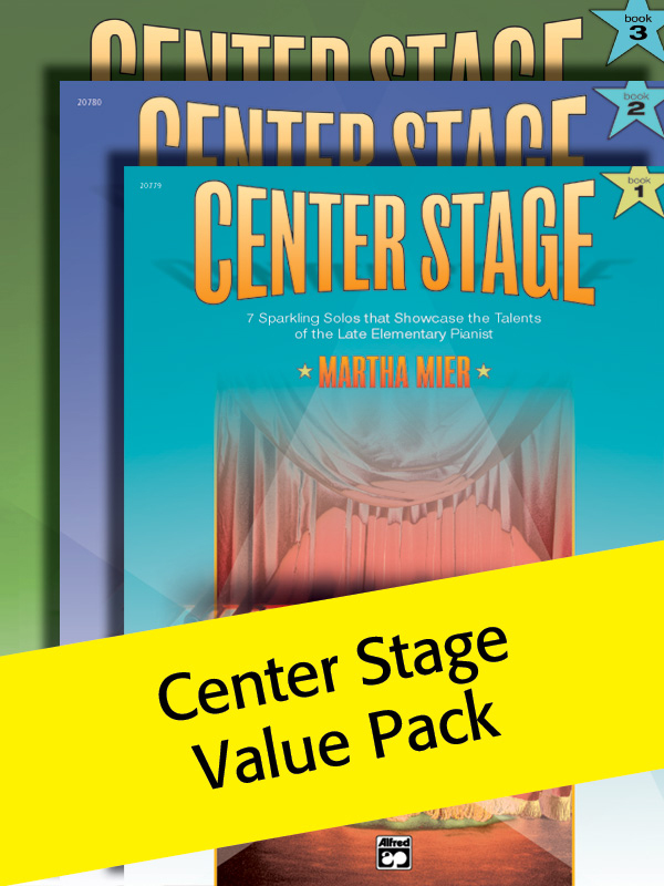 Alfred Music Center Stage: Books 1-3