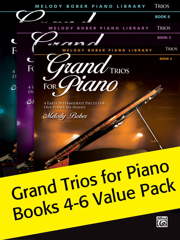 Alfred Music Grand Trios for Piano: Books 4-6, Value Pack