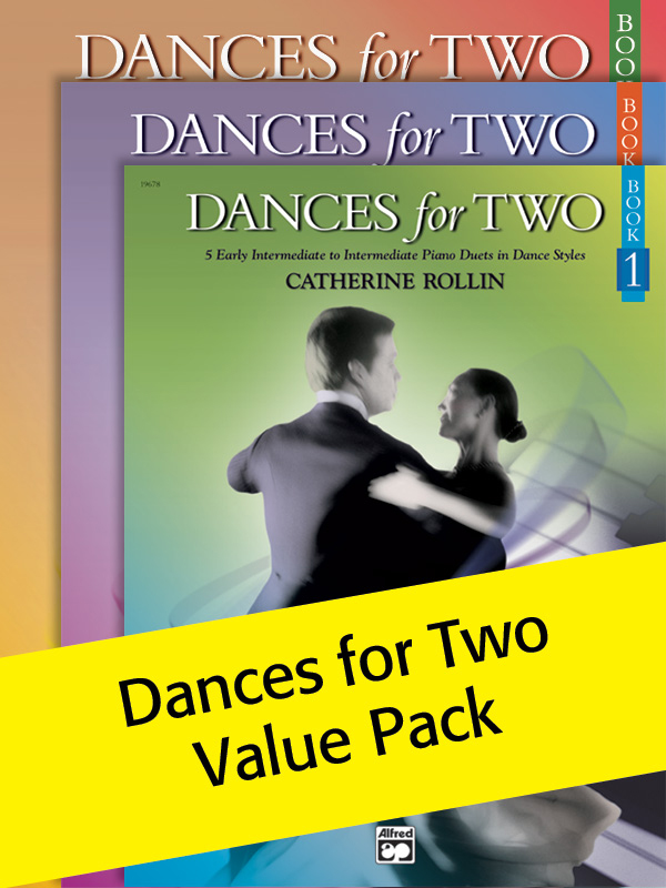 Alfred Music Dances for Two: Books 1-3
