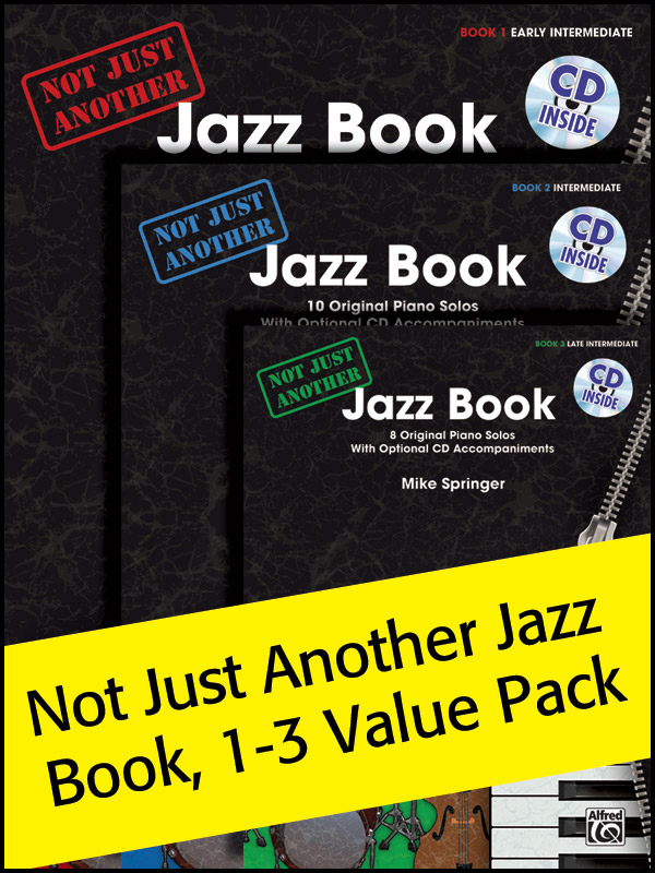 Alfred Music Not Just Another Jazz Book: Value Pack