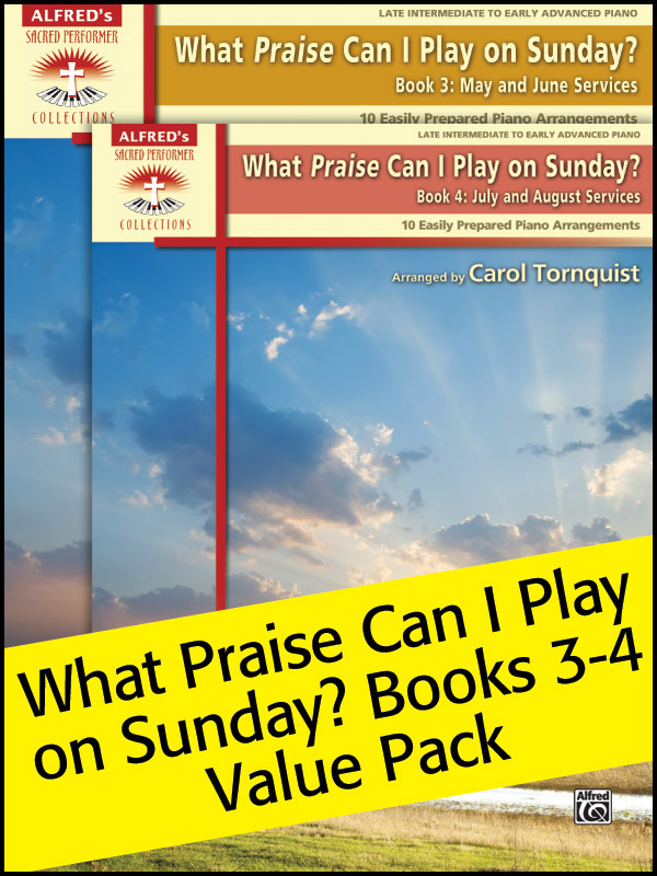 Alfred Music What Praise Can I Play on Sunday?: Books 3-4, Value Pack