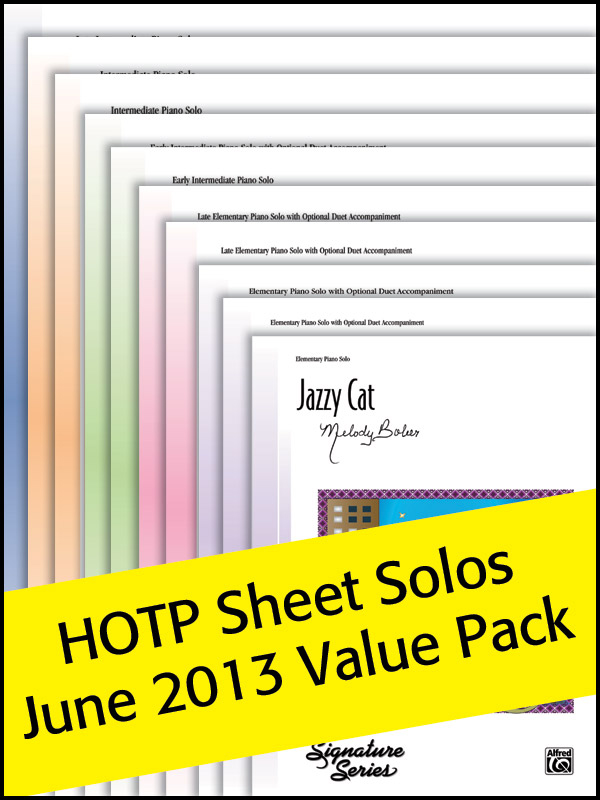 Alfred Music Sheet Solos Value Pack 2013