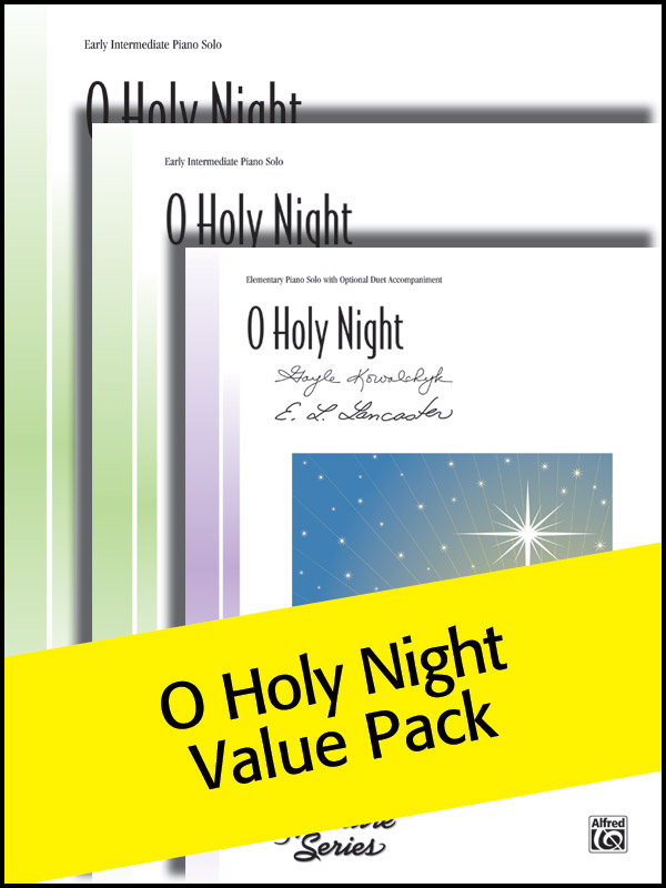 Alfred Music O Holy Night: Value Pack