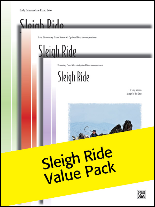 Alfred Music Sleigh Ride: Value Pack