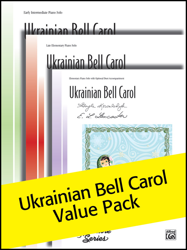 Alfred Music Ukrainian Bell Carol: Value Pack