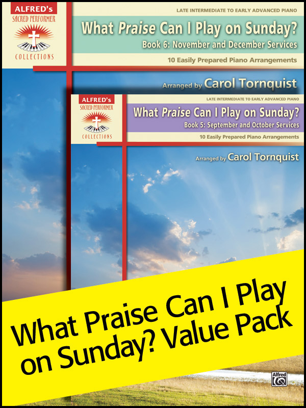 Alfred Music What Praise Can I Play on Sunday: Books 5 & 6, Value Pack