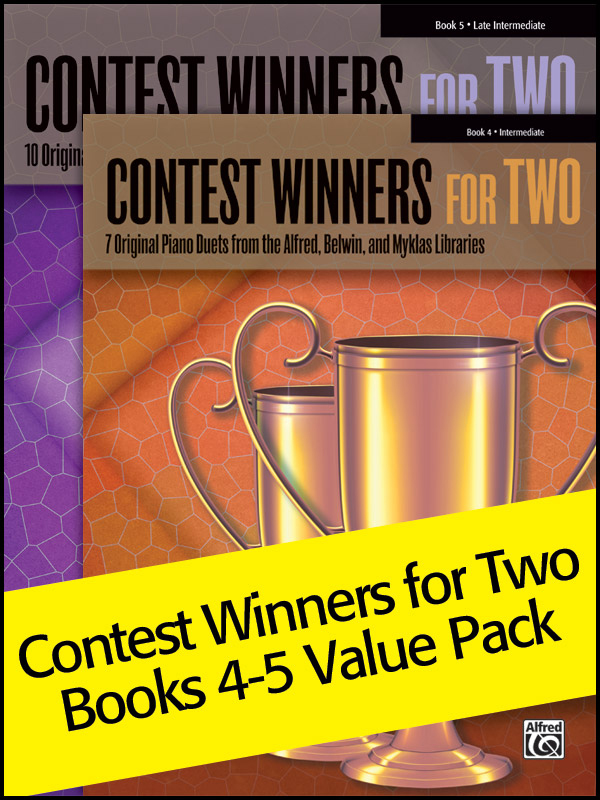 Alfred Music Contest Winners for Two, Books 4-5: Value Pack
