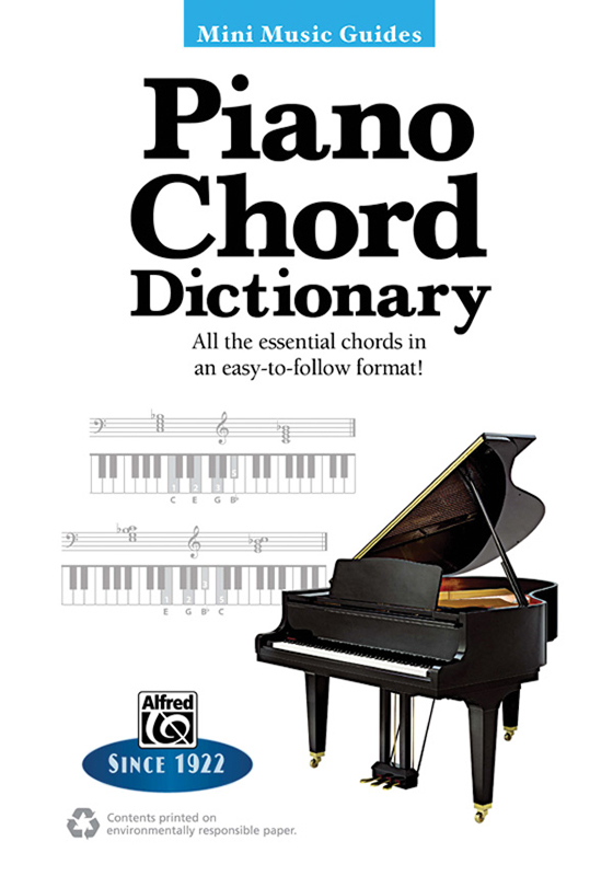 Alfred Music Mini Music Guides: Piano Chord Dictionary