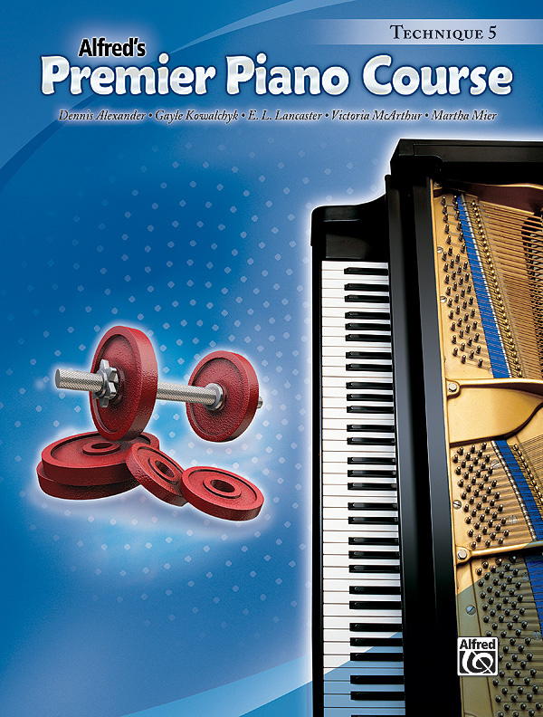 Alfred Music Premier Piano Course: Technique Book 5