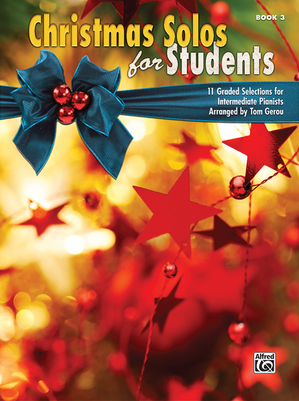 Alfred Music Christmas Solos for Students: Book 3