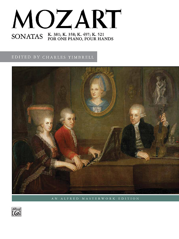 Alfred Music Sonatas for One Piano: Four Hands