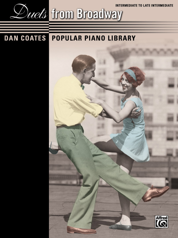 Alfred Music Dan Coates Popular Piano Library: Duets from Broadway