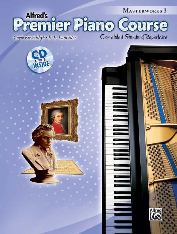 Alfred Music Premier Piano Course: Masterworks, Book 3