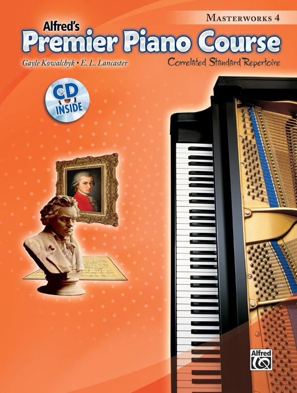 Alfred Music Premier Piano Course: Masterworks, Book 4