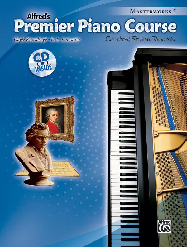 Alfred Music Premier Piano Course: Masterworks, Book 5