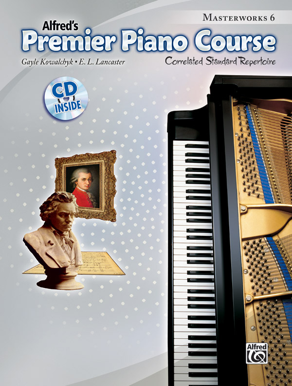 Alfred Music Premier Piano Course: Masterworks, Book 6