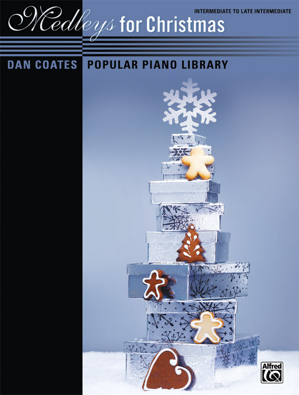 Alfred Music Dan Coates Popular Piano Library: Medleys for Christmas