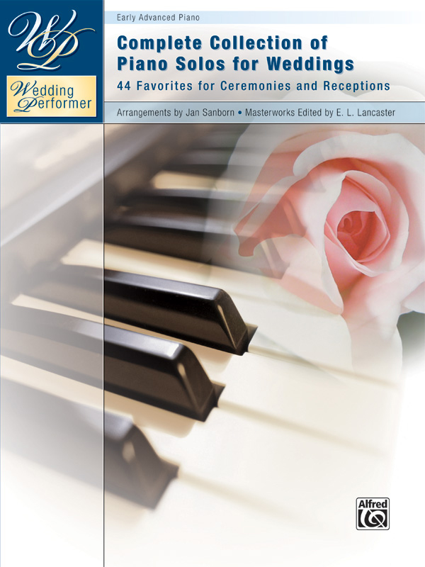 Alfred Music Wedding Performer: Complete Collection of Piano Solos for Weddings