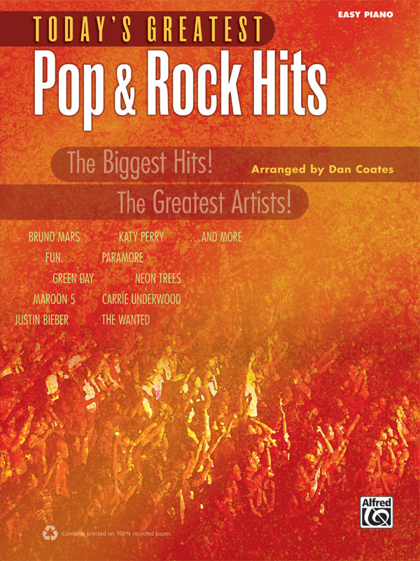 Alfred Music Today's Greatest Pop & Rock Hits