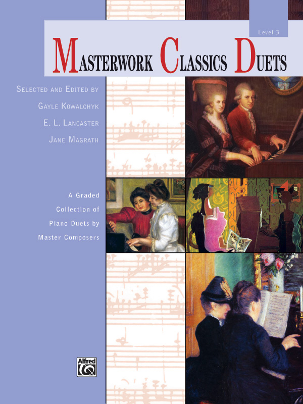 Alfred Music Masterwork Classics Duets: Level 3