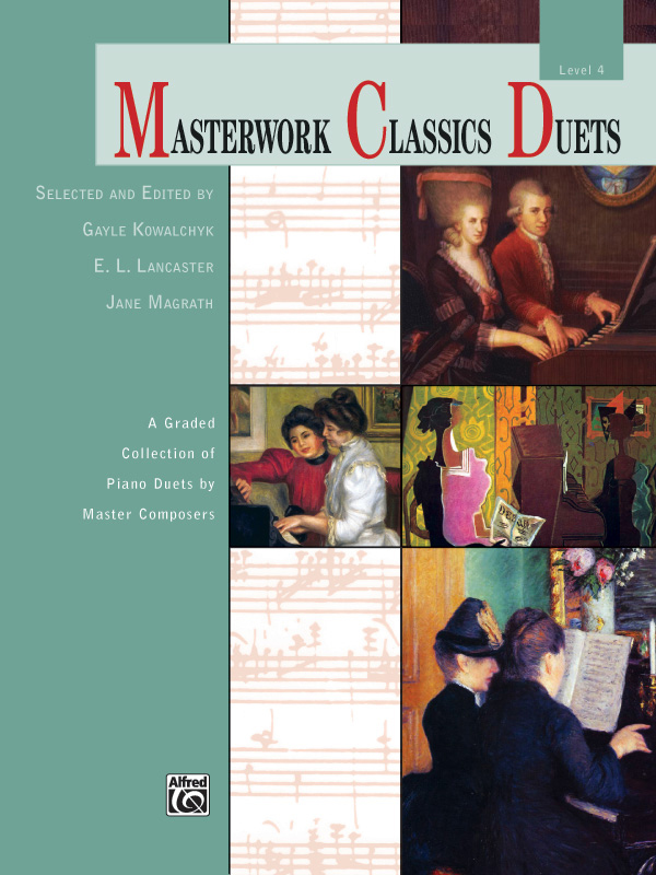 Alfred Music Masterwork Classics Duets: Level 4