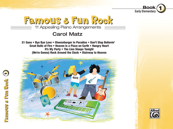 Alfred Music Famous & Fun Rock: Book 1