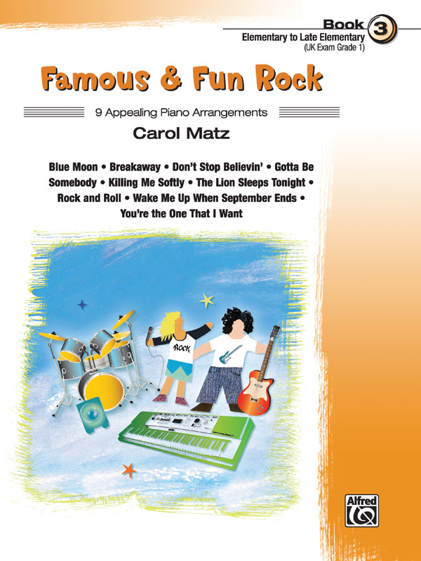 Alfred Music Famous & Fun Rock: Book 3