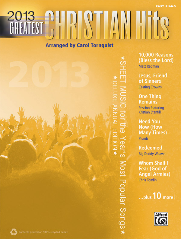 Alfred Music 2013 Greatest Christian Hits