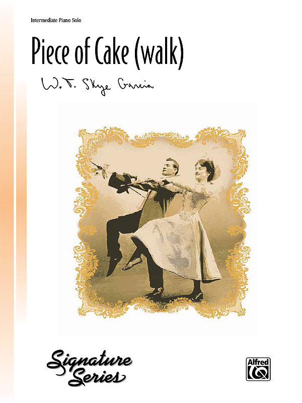 Alfred Music A Piece of Cake: Walk