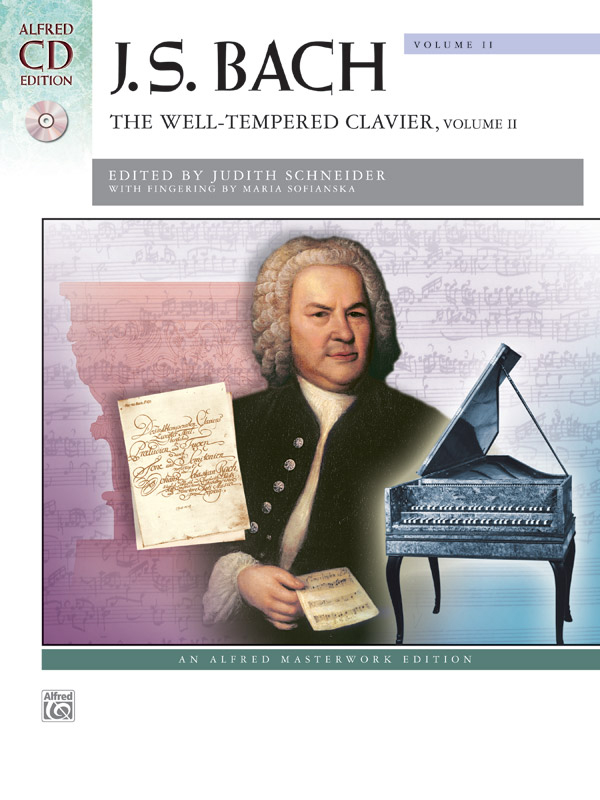 Alfred Music The Well-Tempered Clavier: Volume II