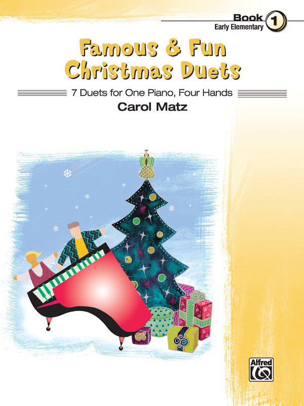 Alfred Music Famous & Fun Christmas Duets: Book 1