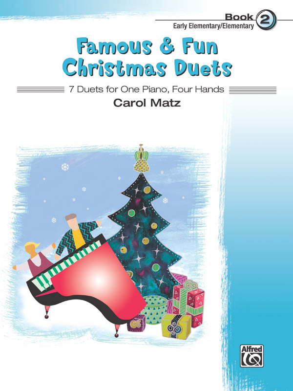Alfred Music Famous & Fun Christmas Duets: Book 2