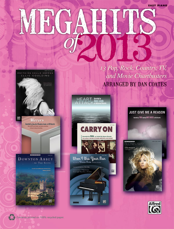 Alfred Music Megahits of 2013: Book, Easy Piano