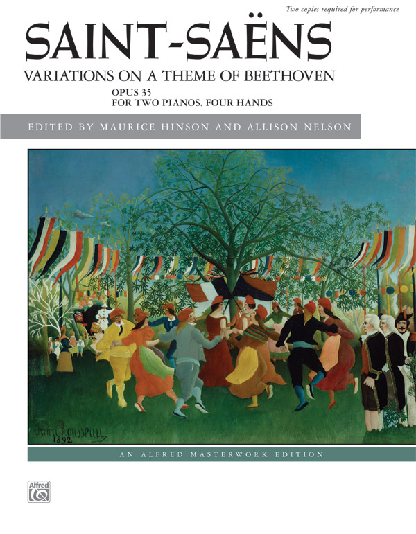 Alfred Music Variations on a Theme of Beethoven: Op. 35