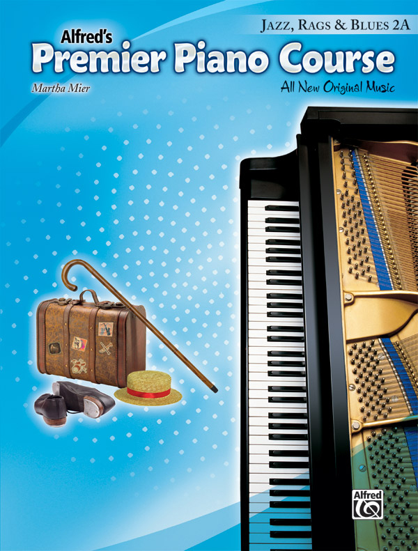 Alfred Music Premier Piano Course: Jazz, Rags & Blues Book 2A