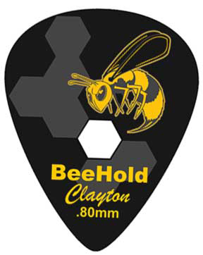 Steve Clayton™ BeeHold Pick: Standard, .80mm, 6 Pieces