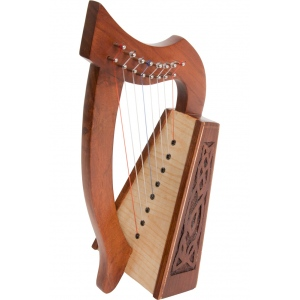 Roosebeck Lily Harp™ 8-String Knotwork
