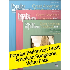 Alfred Music Popular Performer, Great American Songbook 1-3: Value Pack