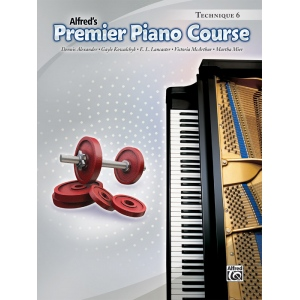 Alfred Music Premier Piano Course: Technique Book 6