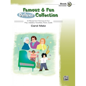 Alfred Music Famous & Fun: Deluxe Collection, Book 5