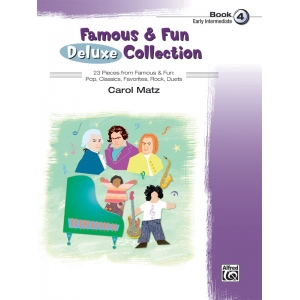 Alfred Music Famous & Fun: Deluxe Collection, Book 4