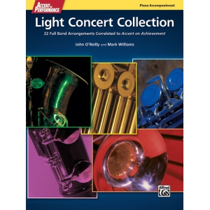 Alfred Music Accent on Performance Light Concert Collection: Book, Piano