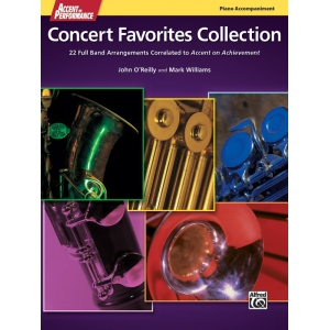 Alfred Music Accent on Performance Concert Favorites Collection: Book, Piano
