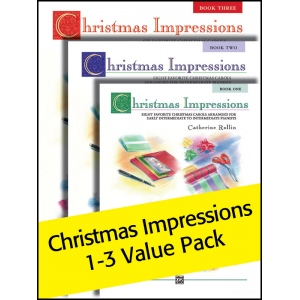 Alfred Music Christmas Impressions: 1-3 Value Pack