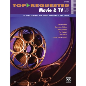 Alfred Music Top Requested Movie & TV Sheet Music