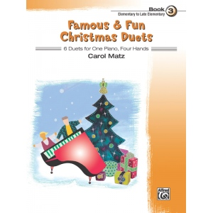 Alfred Music Famous & Fun Christmas Duets: Book 3