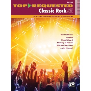 Alfred Music Top Requested Classic Rock Sheet Music