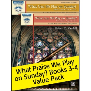 Alfred Music What Can We Play on Sunday?: Books 3-4, Value Pack