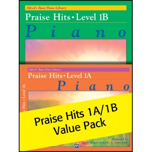 Alfred Music Alfred's Basic Piano Library Praise Hits: Value Pack